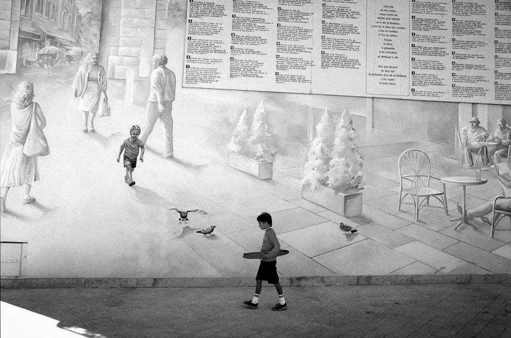 mur peint à Montélimar
