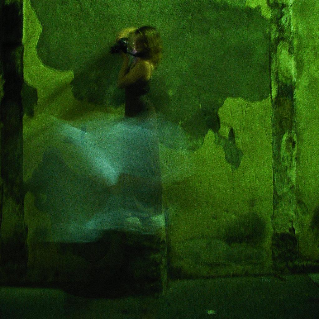 Vert / la photographe perchée / arles 2008