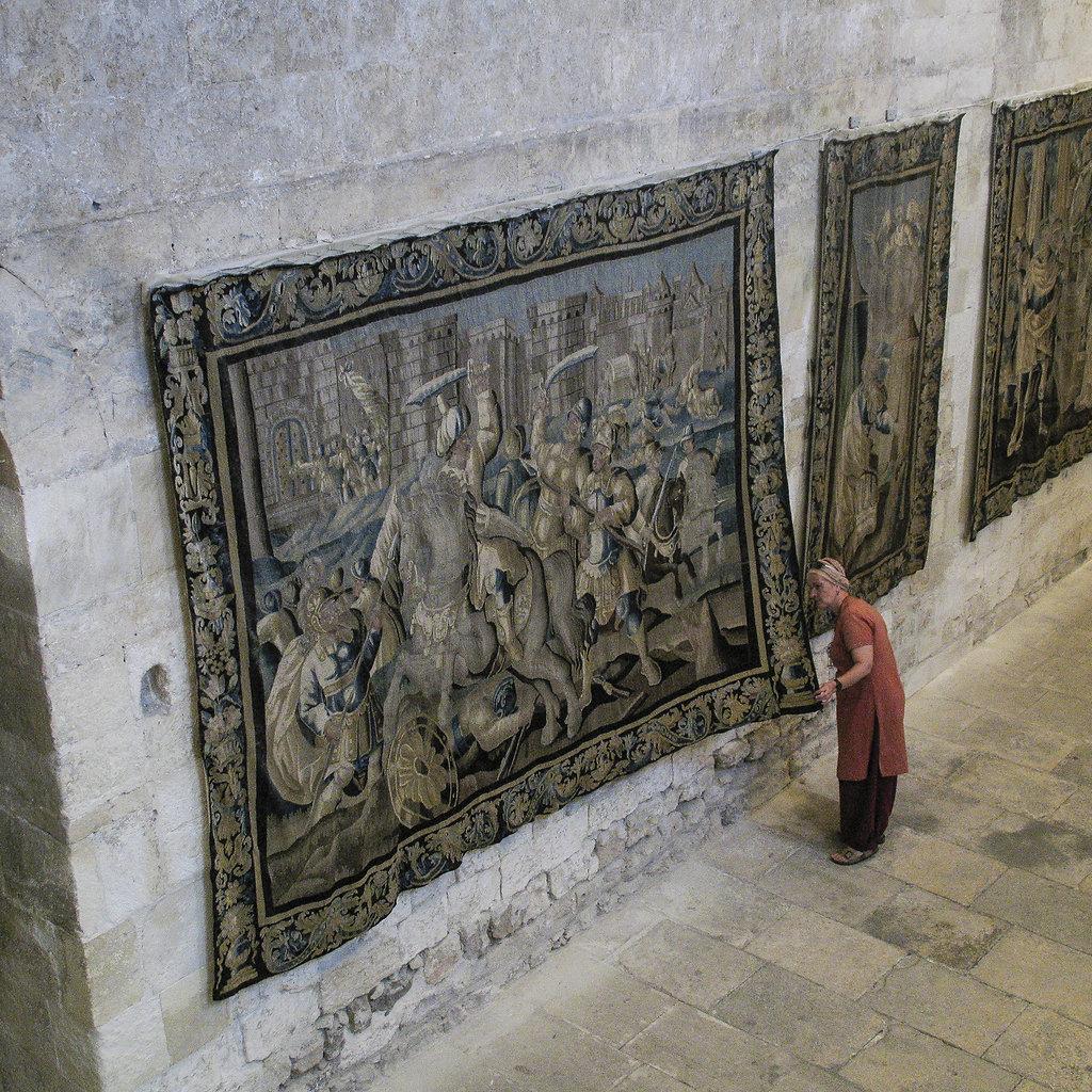 Grisaille / Anne au Palais de l'Archevêché / Arles 2007